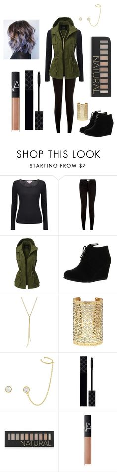 """""""party city"""" by mmmescher on Polyvore featuring Phase Eight, New Look, LE3NO, Forever 21, Vince Camuto, Gucci and NARS Cosmetics"""
