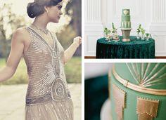 Lake Tahoe Wedding Inspiration | The Great Gatsby