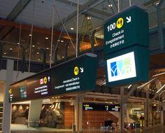YVR Vancouver International Airport, wayfinding
