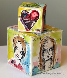 artist trading blocks - Google Search