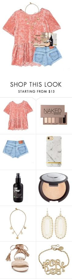"""""""she made her own hopes & dreams come true and didn't rely on anyone else to save her."""" by ellaswiftie13 on Polyvore featuring MANGO, Urban Decay, Becca, Marc by Marc Jacobs, Kendra Scott, Steve Madden and Too Faced Cosmetics"""