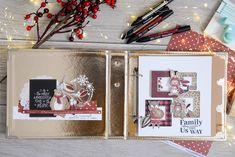 Album Photo Scrapbooking, Mini Albums Scrapbook, Christmas Mini Albums, Christmas Minis, December Daily, Gift Wrapping, Allg, Hui, Stamping