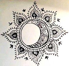 Tattoo Sun and Moon: