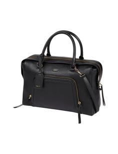 DKNY Shopper aus fein genarbtem Leder in Grau / Schwarz online kaufen (9501538) | P&C Online Shop