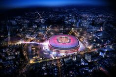 FC barcelona selects nikken sekkei to renovate its camp nou stadium