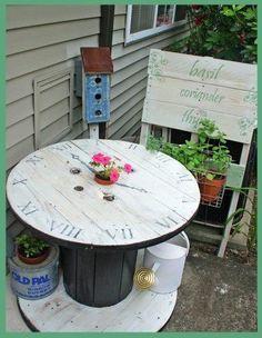 Spool table