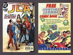 JLA #100 DC Comic Book 48p Oversize Kelly Elite 2004 Justice League Batman Flash