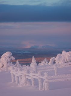 What a landscape in Finland, Lapland. Photo by @virpula