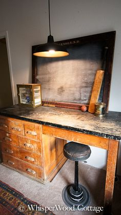 I need a vintage lab table - reminds me of chemistry class in college