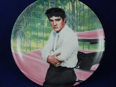 Vintage Limited Edition Elvis Collectors Plate NIB by AlwaysPlanBVintage on Etsy