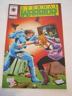 July 1993 Valiant Comics Eternal Warrior #12, (EB13-17)