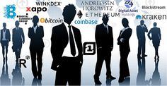 The Biggest Names In Bitcoin And Blockchain Tech