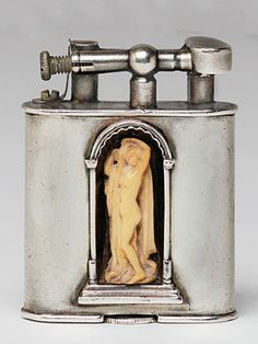 Antique Lighter Silver Dunhill 1927-1928