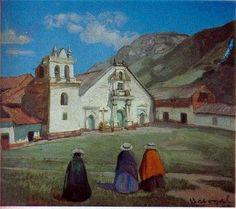 El arte de pintar: Obras de José Sabogal...Plaza Serrana.