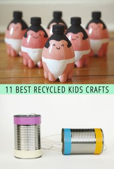 Good Green Fun: 11 Recycled Crafts For Kids - like the old-fashioned telephone game