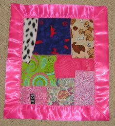 Flowergirl - Snugglin blanket for babies and toddlers