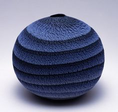 "Interweaving Patterns, Colorful Symphony Through ""marbled ware"", pottery created by the technique of combining and molding different colored clays to create a pattern, MATSUI Kosei beca… Ceramic Clay, Ceramic Pottery, Pottery Art, Blue Pottery, Japanese Ceramics, Japanese Pottery, Kintsugi, Earthenware, Stoneware"