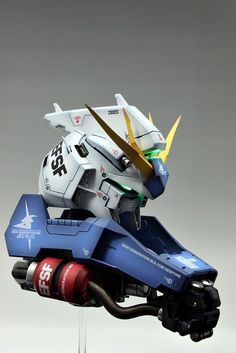 1/35 Resin Cast Kit RX-93 Hi-Nu Gundam Head: Painted Build. Photoreview No.13 Big Size Images