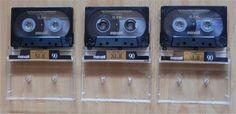 3 x Maxell XLII 90 IEC Type II, Hifi Audio Leercassette, Musik Kassette, MC