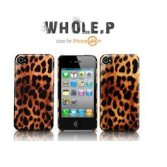 Safari Leopard back cover case for iPhone 4/4S