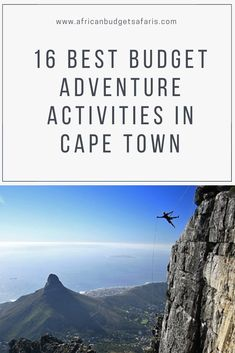 Where else in the world is there a city that has as much to offer as Cape town? Mountains, beaches, vineyards, culture, history, wildlife and, adventure activities too! Below we list 16 of the best of them for under R1000 per person ($70/63Euro)*. Go on, have some fun!  *As of 14 Jan 2020. #CapeTown #Adventure #TravelTuesday