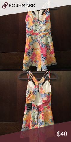 0811629f3b NBD Romper Dress NWT NBD X Naven Tropical Floral Romper XS