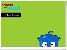 """Aprende con Max: """"Zonas climáticas"""""""