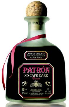 Patron XO Cafe Liqueur is an extraordinary blend of ultra-premium Patron Silver tequila and the pure, natural essence of fine coffee. The taste is dry, not sweet as with most low-proof coffee liqueurs with notes of chocolate and vanilla. Patron Tequila, Tequila Mexicano, Coffee Tequila, Patron Xo Cafe, Vodka, Flavored Tequila, Cheers, Day Drinking, Shopping