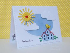 welcome (new) home! by Its From Me - Cards and Paper Crafts at Splitcoaststampers