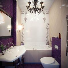 Дизайн ванной комнаты маленьких размеров   Интерьер дома