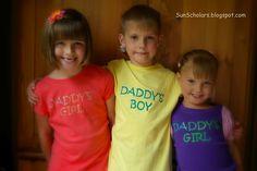Sun Scholars: Freezer Paper Shirt Stencils