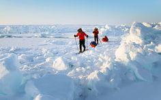 Objetivo: #PoloNorte... ¡en helicóptero! Vuela al lugar de hielo más septentrional del #planeta, y con 24h ininterrumpidas de #sol #viajar #viajes #travel #traveltheworld #northpole