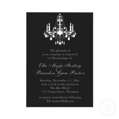 Shop Grand Ballroom Wedding Invitation 2 (black) created by prettyfancyinvites. Gothic Wedding Cake, Gothic Wedding Invitations, Beautiful Wedding Invitations, Dream Wedding, Wedding Day, Dream Prom, Wedding Things, Yellow Grey Weddings, Gray Weddings