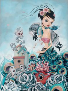 Caia Koopman - More artists around the world in : http://www.maslindo.com #art #artists