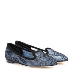 Lace Slippers Dolce & Gabbana