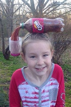 Pleasant 11 Kids With The Best Crazy Hair Day Ideas Ever Kinder Hairstyles For Women Draintrainus