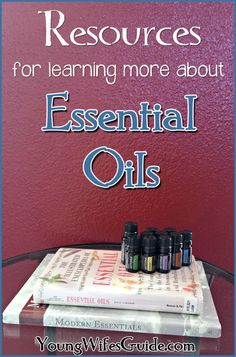 Are you curious about essential oils or want to dive deeper? Here are some great resources to get you started!