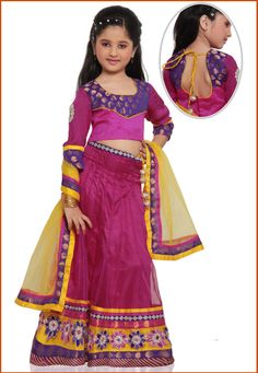 Rani Pink Shimmer Net Readymade Lehenga Choli with Dupatta Online Shopping: UNJ278
