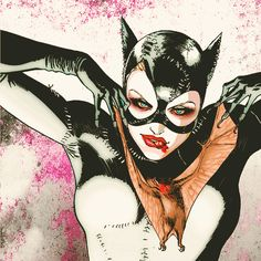 awesome, bat, and catwoman image