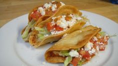 Tacos de Papa (potato tacos) have gained popularity in the taco scene. I love potato tacos, and I have loved them since I was a little kid. I remember when my mom would say she was. Veggie Recipes, Mexican Food Recipes, Vegetarian Recipes, Cooking Recipes, Veggie Dishes, Pasta Recipes, Authentic Mexican Recipes, I Love Food, Good Food