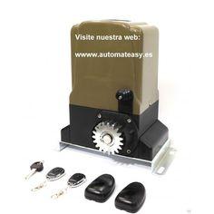 motor de puerta de corredera. Para mas información visite la WEB: http://www.automateasy.es/