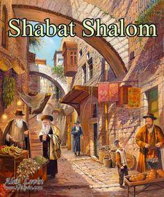 Shabbat Shalom By Alex Levin