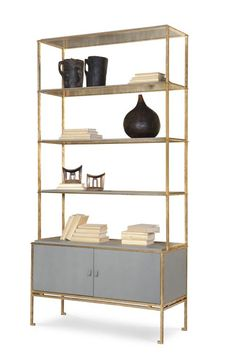 rhyder brown and gold bookcase apartment outdoor plant shelf pinterest plant shelves mid century design and mid century - Gold Bookshelves