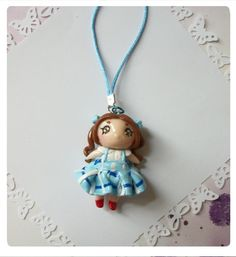 Wizard of Oz Dorothy phone charm necklace charm by FairysLiveHere