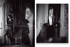 Isabeli Fontana by Vincent Peters - Vogue Italia