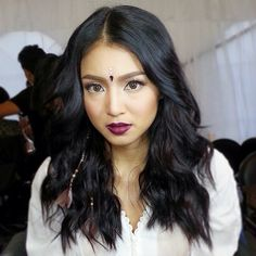 Nadine makeup by jelly for MYXPH Awards 2015 Nadine Lustre, Filipina Actress, Filipina Beauty, You're Beautiful, Beautiful People, Best Actress, Pretty People, Hair Color, Make Up