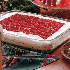 Aunt JoAnn's Cherry Torte