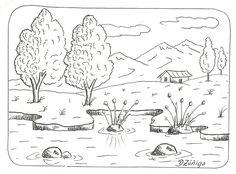 Aqui les presento una primera parte de paisajes en blanco y negro, con el fin que puedas reproducirlos, y te ayuden a cumplir tus tareas o s...