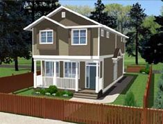 900 sq. ft. 3/2.5 (build a single home or duplex)