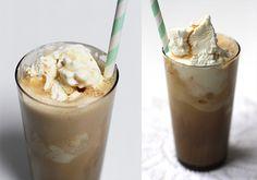 Koffie milkshake. Als echte koffieliefhebber maak je een milkshake natuurlijk met koffie. Hieronder het snelle recept voor een koffie milkshake!